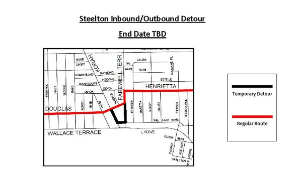 Steelton Inbound/Outbound Detour